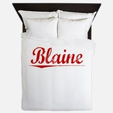 Blaine, Vintage Red Queen Duvet