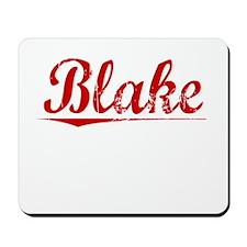 Blake, Vintage Red Mousepad