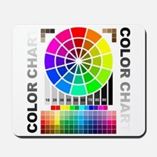 Color chart Mousepad