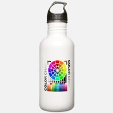 Color chart Water Bottle