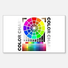 Color chart Decal
