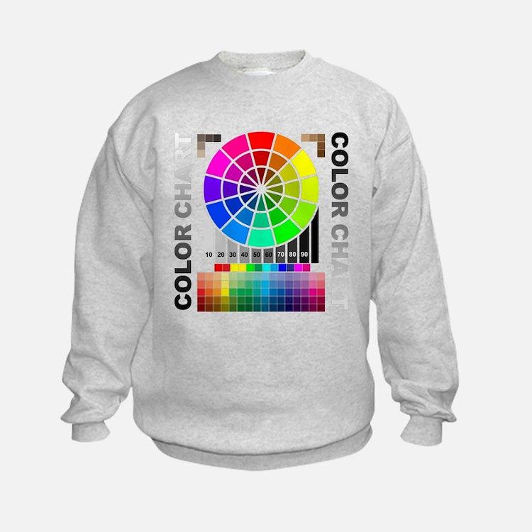 Color chart Sweatshirt