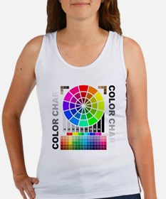 Color chart Women's Tank Top