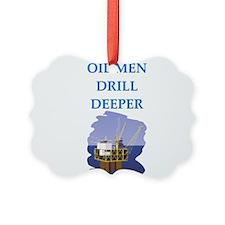 OIL men Ornament