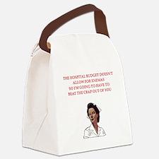 NURSE.png Canvas Lunch Bag