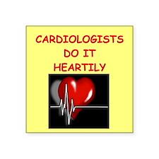 """HEART Square Sticker 3"""" x 3"""""""