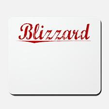 Blizzard, Vintage Red Mousepad