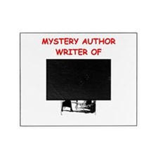 mystery writer author joke gifts t-shirts Picture Frame