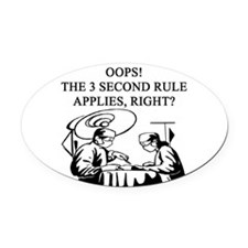 funny jokes physicians doctors Oval Car Magnet