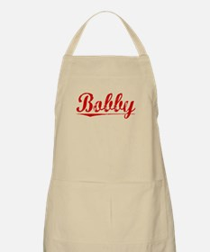 Bobby, Vintage Red Apron