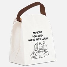 4-DOCTOR.png Canvas Lunch Bag