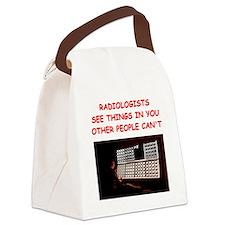 RADIOLOGist joke Canvas Lunch Bag