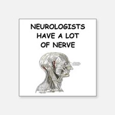 "NEUROLOGIST Square Sticker 3"" x 3"""