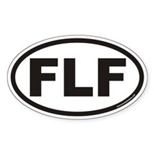 FLF Euro Oval Decal