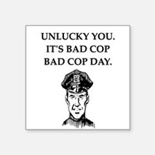 good cop bad cop poliice joke gifts apparel Square