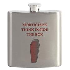 funny joke undertakers morticians Flask