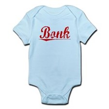 Bonk, Vintage Red Infant Bodysuit