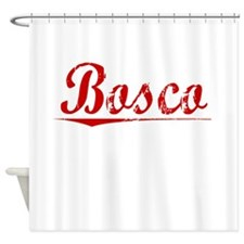 Bosco, Vintage Red Shower Curtain