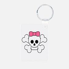 Girly Skull Keychains