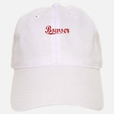 Bowser, Vintage Red Baseball Baseball Cap