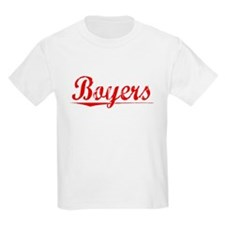Boyers, Vintage Red T-Shirt