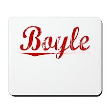 Boyle, Vintage Red Mousepad