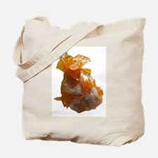 Wulfenite Crystals on matrix Tote Bag