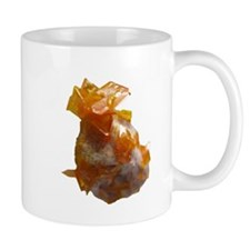 Wulfenite Crystals on matrix Small Mug