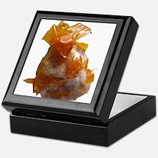 Wulfenite Crystals on matrix Keepsake Box