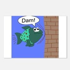 Dam! Fish Postcards (Package of 8)