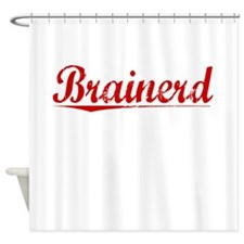 Brainerd, Vintage Red Shower Curtain