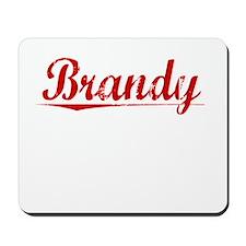 Brandy, Vintage Red Mousepad