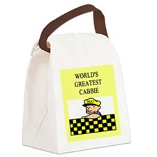funny jokes cabbie Canvas Lunch Bag
