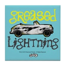 Greased Lightning Tile Coaster