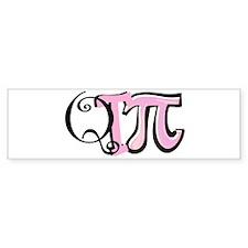 Cutie Pie (pink) Bumper Bumper Sticker