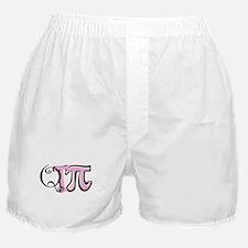 Cutie Pie (pink) Boxer Shorts