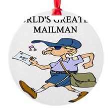 worlds greatest mailman Ornament