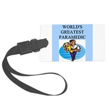 worlds greatest paramedic Luggage Tag