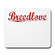 Breedlove, Vintage Red Mousepad