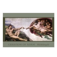 Cute Creationism Postcards (Package of 8)