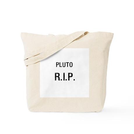 Pluto R.I.P. Tote Bag