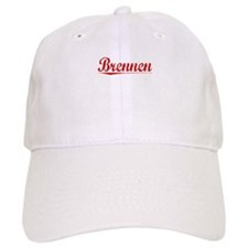 Brennen, Vintage Red Baseball Cap