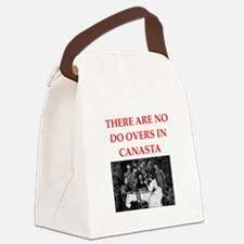 CANASTA. gifts t-shirts Canvas Lunch Bag