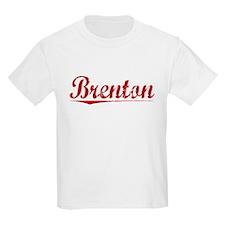 Brenton, Vintage Red T-Shirt