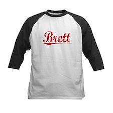 Brett, Vintage Red Tee