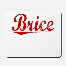 Brice, Vintage Red Mousepad