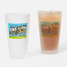 Jackson Mississippi Greetings Drinking Glass