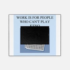 funny games player joke keno Picture Frame