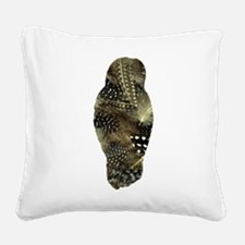 Owl Square Canvas Pillow