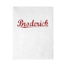 Broderick, Vintage Red Twin Duvet